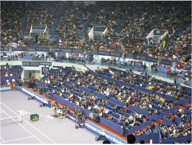 2011上海ATP1000网球大师赛贵宾包厢位置图