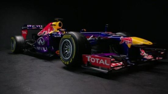 2013f1赛车红牛f1车队发布新车rb9高清图片