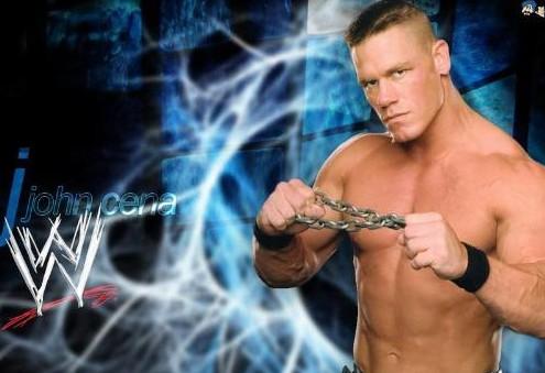 关于wwe美国摔跤秀明星约翰-塞纳的介绍如下:   约翰.塞纳高清图片