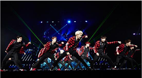 EXO719上海演唱会门票开售 订票火热进行中