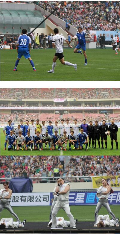 全明星慈善赛中国明星队的参赛阵容以前中国国家队球员为主,