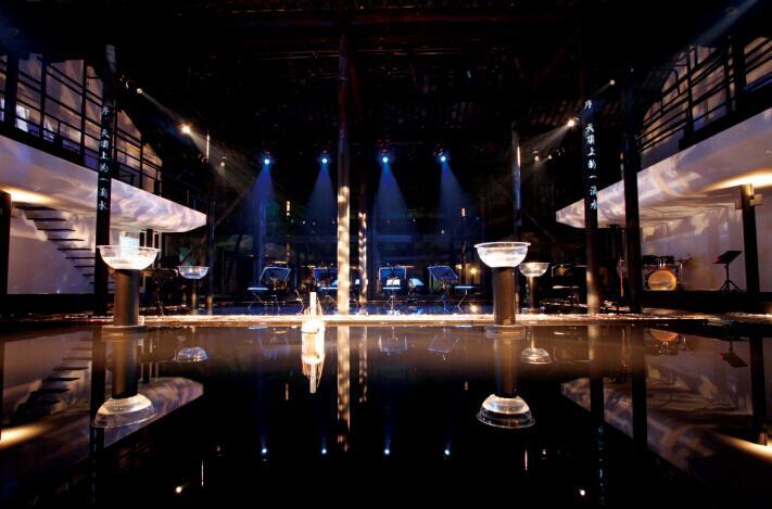 实景水乐·流动建筑 谭盾 水乐堂·天顶上的一滴水