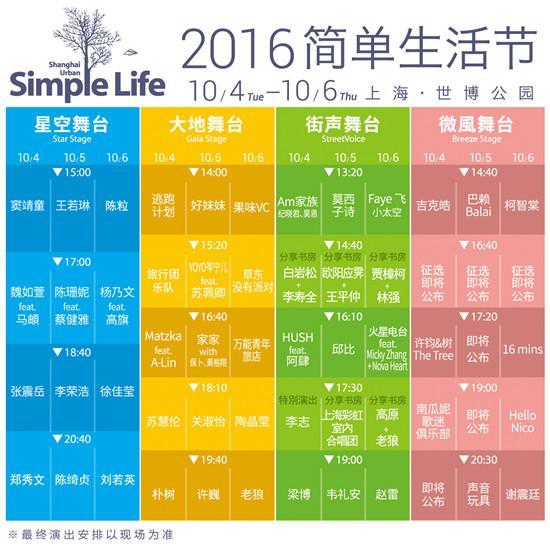 上海世博公园2016简单生活节
