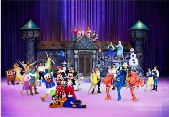 2017上海冰上迪士尼门票