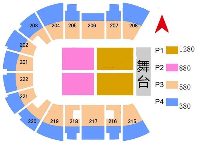 一体共和乐队OneRepublic2017上海演唱会【票价座位图】
