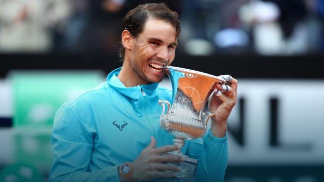 2019ATP罗马网球赛 单项冠军:最大赢家纳达尔