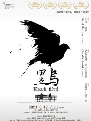 {话剧艺术中心}6.17-7.11话剧《黑鸟》个人团体订票
